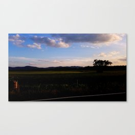 A Touch of Sunset Canvas Print