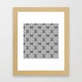 Big Little Circle Framed Art Print