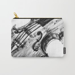 Black Violin Carry-All Pouch