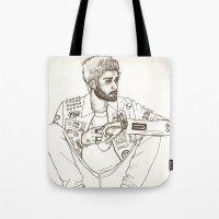 zayn Tote Bags featuring Zayn by harrydoodles