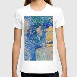 Venice Night of the Festival of the Redeemer Henri-Edmond Cross Neo-Impressionism Pointillism T-shirt