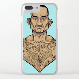 Max 'Blessed' Holloway Clear iPhone Case