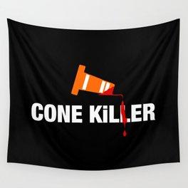 Cone Killer v1 HQvector Wall Tapestry