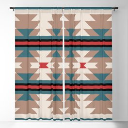 Southwestern Pattern 124 Blackout Curtain