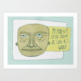 One Lucky Dude Art Print