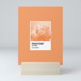Pantone Series – Coral Reef Mini Art Print