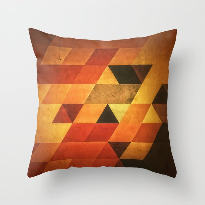 Dyyp Ymbyr Throw Pillow