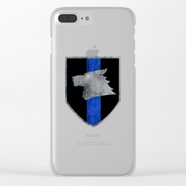 Sheepdog Clear iPhone Case