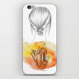I DON'T LOOK BACK II iPhone Skin