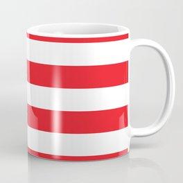 Red Stripes Coffee Mug