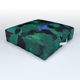 Lily Pond Painting Outdoor Floor Cushion
