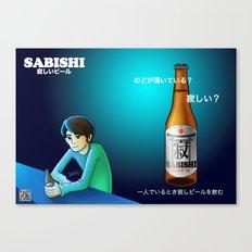 Sabishi Beer Canvas Print