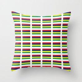 Flag of Mauritius – maurice,mauricien,port-louis,mauritian,rodrigues,creole,dodo,indian ocean Throw Pillow