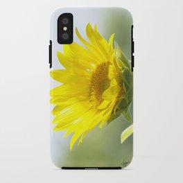 Ladybug and it's Sunflower iPhone Case