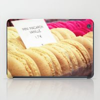 macaron iPad Cases featuring Macaron by Emily Werboff