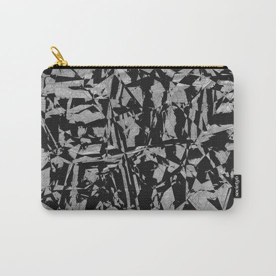 Black - Silver - Crazy Carry-All Pouch