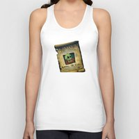 monkey island Tank Tops featuring Monkey Island - WANTED! Murray, the Skull by Sberla