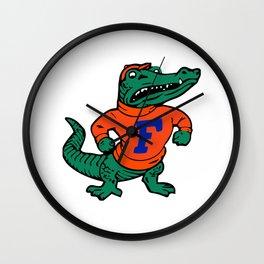 Good Ol' College Gator! Wall Clock