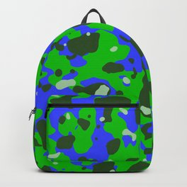 Abstract organic pattern 8 Backpack