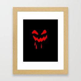 Halloween laughs Framed Art Print