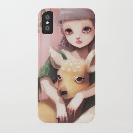 My dear lady deer... iPhone Case