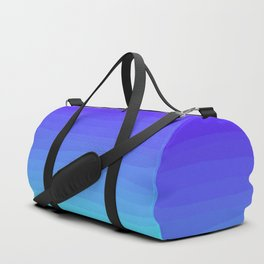 Cobalt Light Blue gradient Duffle Bag
