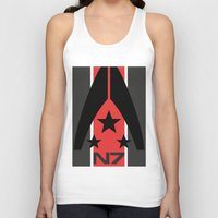 n7 Tank Tops featuring N7 MASS EFFECT by MDRMDRMDR