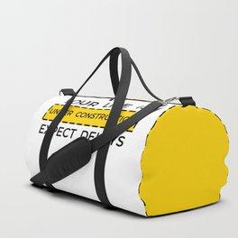 under construction Duffle Bag