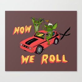 HOW WE ROLL Canvas Print