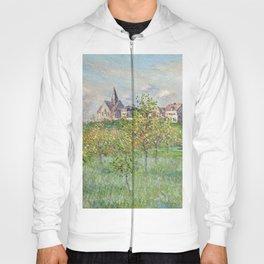 "Claude Monet ""Printemps à Giverny, effet d'après-midi"" Hoody"