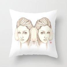 Listen 2 Cold Music Throw Pillow