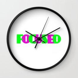 Christian FOCUSED Wall Clock