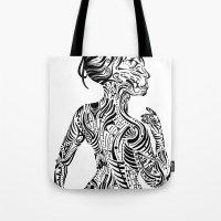 maori Tote Bags featuring Maori Style by SarinneG