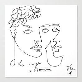 Jean Cocteau Homme  Canvas Print