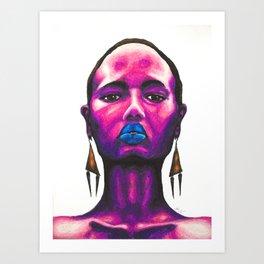 Nneka Pt. 1 Art Print