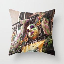 Krewe of Cork Throw Pillow
