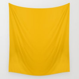 American Yellow Wall Tapestry