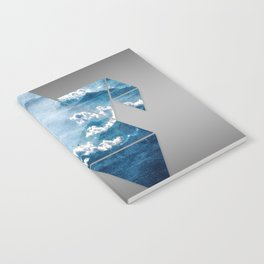 Fragmented Clouds Notebook