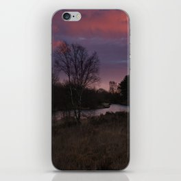 Winter Sunrise At Chasewater iPhone Skin