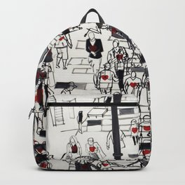Hearts on the Move Backpack