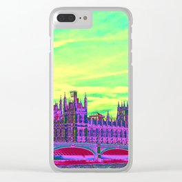 Impressive Travel - London Clear iPhone Case