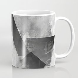 shapes in black and white Coffee Mug
