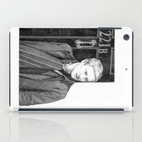 moustache iPad Cases featuring Moustache by Alessia Pelonzi