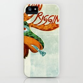Finn Riggins gig poster iPhone Case