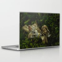 fairy Laptop & iPad Skins featuring Fairy by Mark Spence