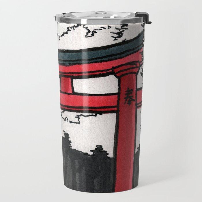 Japan : Fushimi Inari Travel Mug