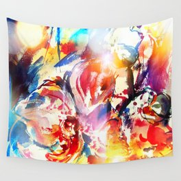 Smiling dragon Wall Tapestry