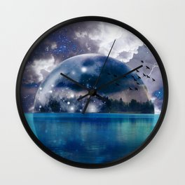 Reflecting(From A Higher Place) Wall Clock