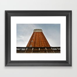 St Mark's Campanile, Venice Framed Art Print