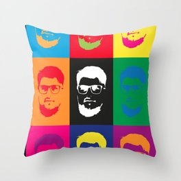 Pop Lucart Throw Pillow